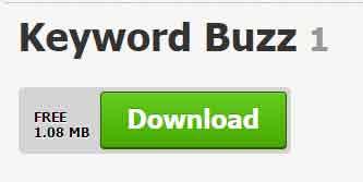Herramienta de palabra clave - keyword buzz