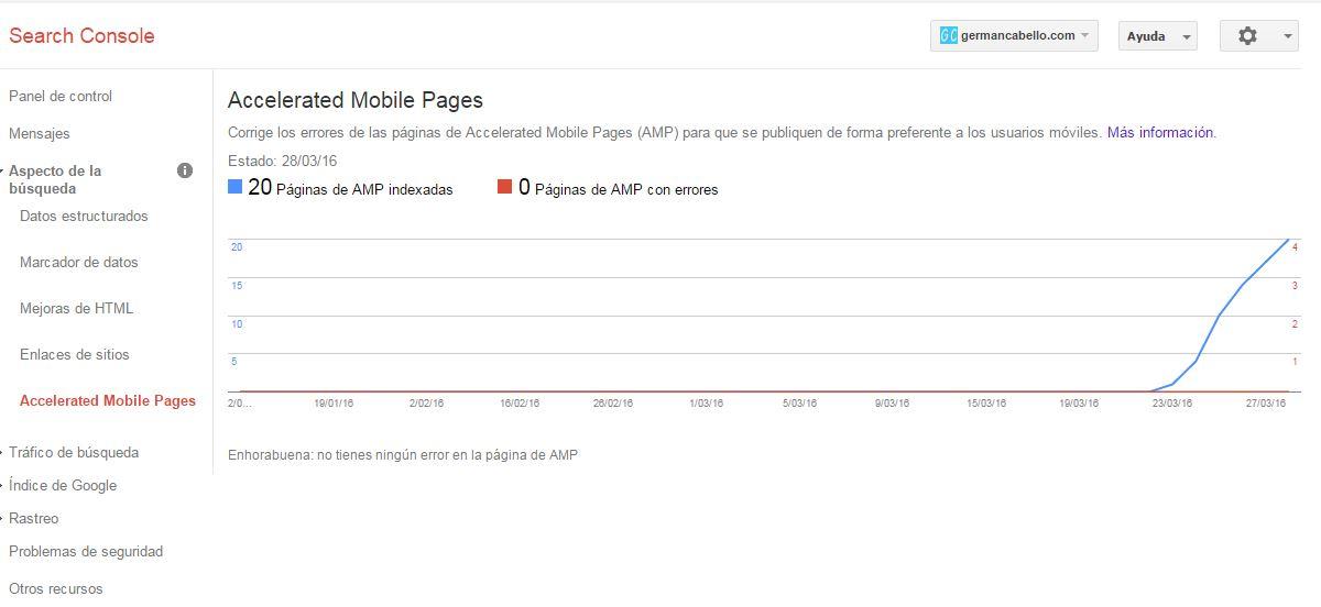 paginas aceleradas para movil google