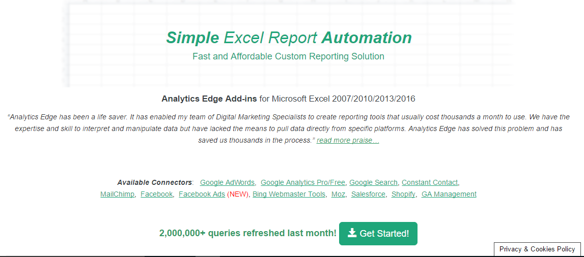 descargar analytics Edge